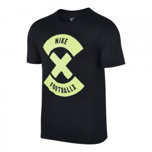 T-shirt Nike Football X Logo - Nero/Giallo