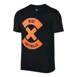 T-shirt Nike Football X Logo - Nero/Arancio