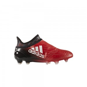 adidas X 16+ PureChaos Bambino FG/AG Red Limit