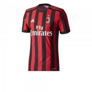 Maglia Milan 2017-2018 home Authentic