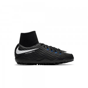 Nike Hypervenom Phelon 3 Bambino TF Pitch Dark